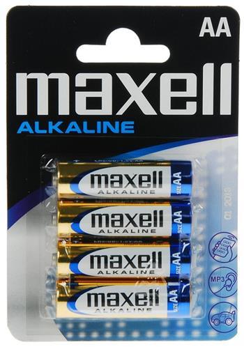Batérie Maxell Alkaline LR6 (AA) 4ks Blister