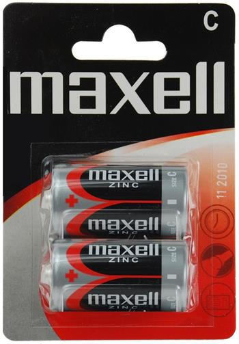 Batérie Maxell Zinc R14 (C) 2ks Blister