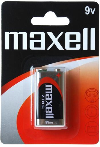 Batérie Maxell Zinc 9V 6F22 Blister 1ks