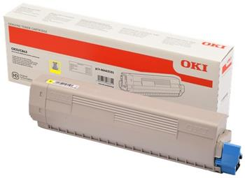 toner OKI C833/C843 yellow (10.000 str.)