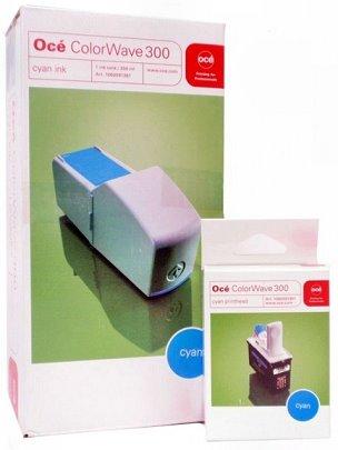 kazeta + hlava OCE ColorWave 300 cyan (350ml) Combi-Pack