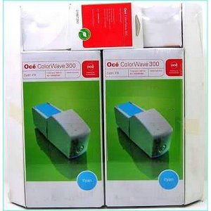 kazeta + hlava OCE ColorWave 300 cyan (2x 350ml) Combi-Pack XL