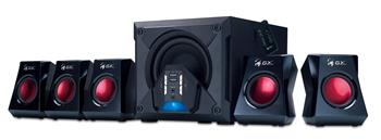 Reproduktory GENIUS GX GAMING SW-G5.1 3500, 5.1, 80W, čierne