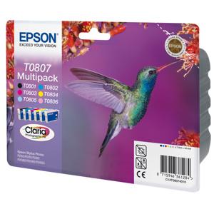 kazeta EPSON SP R265/R285/R360/RX560/RX585/PX730 multipack, 6C