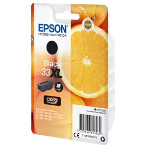 kazeta EPSON XP-530,XP-630,XP-635,XP-830 33XL Claria Black (530str)