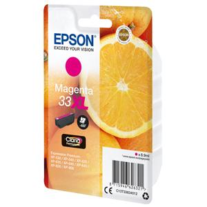kazeta EPSON XP-530,XP-630,XP-635,XP-830 33XL Claria Magenta (650str)