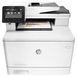 MFP HP Color LaserJet Pro MFP M477fdn, A4, 27str., LAN, Duplex