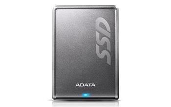 Externý disk ADATA SSD SV620H 256GB (440/430MB/s) USB 3.0, titánový