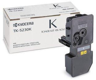 toner KYOCERA TK-5230K Black Ecosys P5021cdn/P5021cdw/M5521cdn/M5521cdw