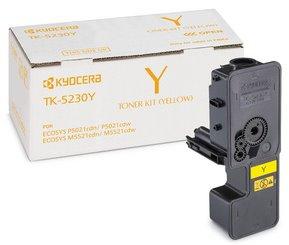 toner KYOCERA TK-5230Y Yellow Ecosys P5021cdn/P5021cdw/M5521cdn/M5521cdw