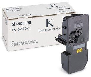 toner KYOCERA TK-5240K Black Ecosys P5026cdn/P5026cdw/M5526cdn/M5526cdw