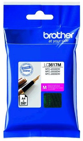 kazeta BROTHER LC-3617 Magenta MFC-J2330DW/J3530DW/J3930DW