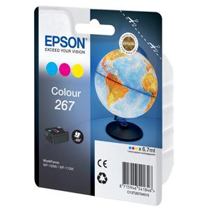 kazeta EPSON 267 Color pre WF-100