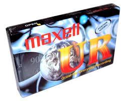 Audio kazeta MAXELL UR-90