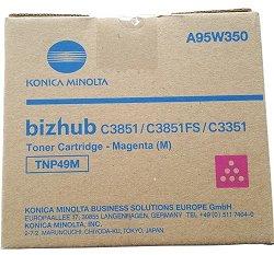 toner MINOLTA TNP49M magenta Bizhub C3351/C3851