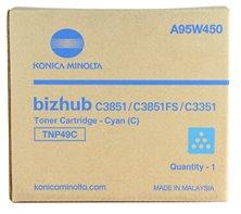 toner MINOLTA TNP49C cyan Bizhub C3351/C3851
