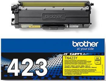 toner BROTHER TN-423 Yellow HL-L8260CDW/L8360CDW, DCP-L8410CDW, MFC-L8690CDW/L8900CDW