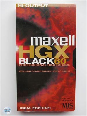 VHS kazeta MAXELL HGXB 60 min