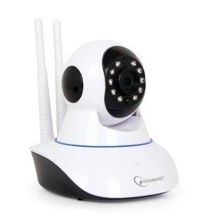 Otočná smart WiFi/LAN IP kamera, HD rozlíšenie 720p, slot na SD kartu, Gembird
