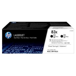 TONER HP CF283XD, Dualpack HP83X čierny, 2x2200str.