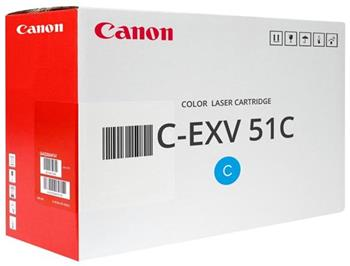 toner CANON C-EXV51C cyan iRAC5535/AC5540/AC5550/AC5560