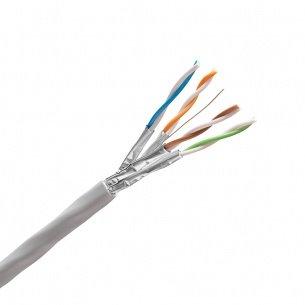 K-Cat.6A, 10Giga Kábel STP 4x2xAWG23, 550MHz, LSOH, 500m bubon, KELINE