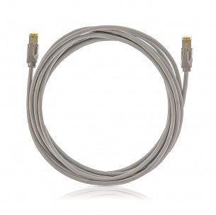 K-Cat.6A, 10Giga Patch kábel STP, 5.0m, LSOH, KELINE
