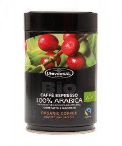 Káva UNIVERSAL BIO FAIR-TRADE mletá 100% Arabica 250g