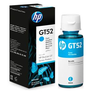 KAZETA Fľaša atramentu HP GT52 M0H54AE Azúrová