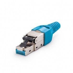 Beznástrojový konektor FM45/s pre Cat.7A, Cat.7, Cat.6A, Cat.6, Cat.5E, KELINE