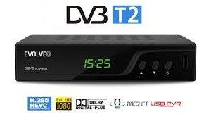 EVOLVEO OMEGA T2HD DVB-T2 H.265/HEVC rekordér