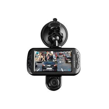 MODECOM AUTO kamera MC-CC15 FHD X2 , 2 kamery predná FHD a zadná HD, 3'' TFT, microSD a micoUSB slot, 300 mAh batéria,G-