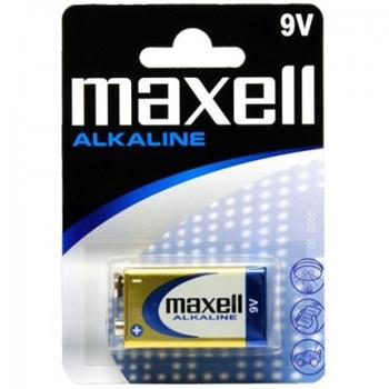 Batérie Maxell Alkaline 9V 6LR61 Blister 1ks