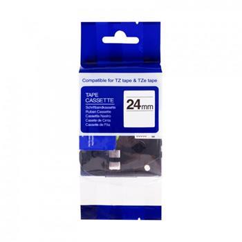 Kompatibilná páska BROTHER TZ251 čierne písmo, biela páska Tape (24mm)