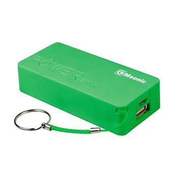 Power Bank MSONIC 5000mAh, Li-Ion MY2580E zelená farba