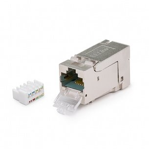 K-Cat.6A, Keystone Jack HD, Category 6A, RJ45/s, KELINE