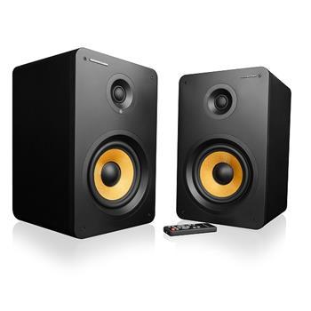 Modecom reproduktory HF-180 Eclipse 2.0 , 2 x 90W, Bluetooth 4.0, dialkové ovládanie, Black