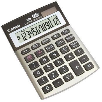 stolová kalkulačka CANON LS-120TSG, 12 miest, solárne napájanie + batérie