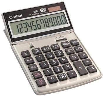 stolová kalkulačka CANON TS-1200TCG, 12 miest, solárne napájanie + batérie