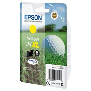 kazeta EPSON WF-3720/3725 no.34XL yellow (950 str)