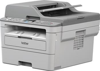 MFP laser čb BROTHER MFC-B7715DW - P/C/S, Duplex, Fax, ADF, Ethernet, WiFi