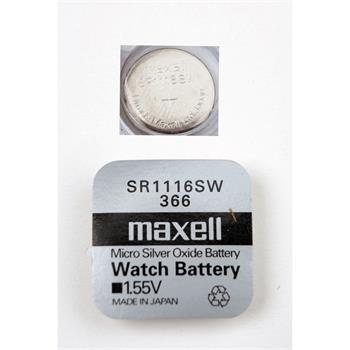 Batéria Maxell SR1116SW (1ks)