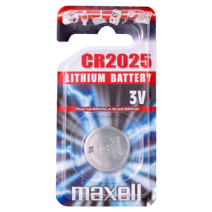 Batérie Maxell CR2025 Micro Lithium Cell 1ks Blister