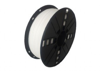 HIPS plastic filament pre 3D tlač, priemer 1,75mm, farba biela, Gembird