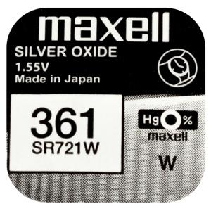 Batéria Maxell SR721W (1ks)