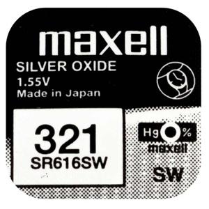 Batéria Maxell SR616SW (1ks)