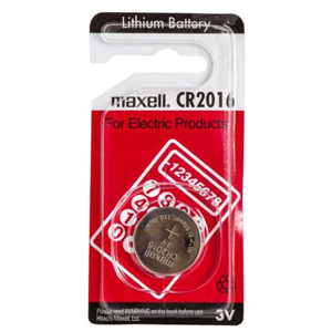 Batérie Maxell CR2016 Micro Lithium Cell 1ks Blister