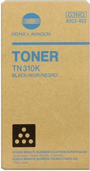 toner MINOLTA TN310K Bizhub C350/C351/C450 black
