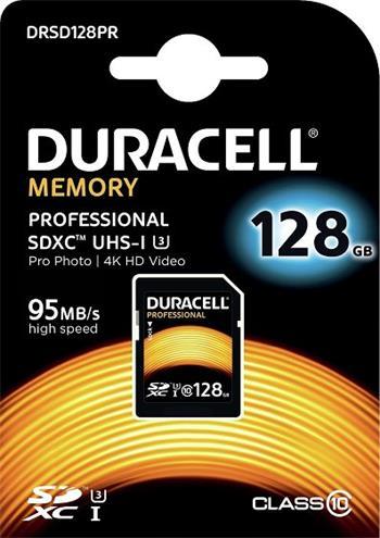 Pamäťová karta Duracell Professional SDXC 128GB Class 10 UHS-3
