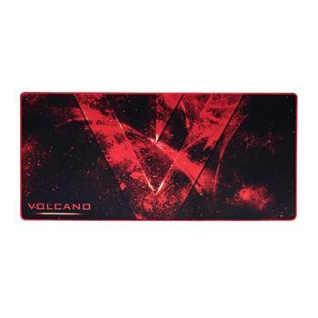 Podložka pod myš Mousepad MODECOM Volcano Erebus čierno-červená, rozmery 900 x 420 x 3mm